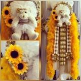 Custom Sunflower Super Single